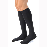 Jobst For Men Casual Knee High Closed Toe Socks-15-20 mmHg-Full Calf