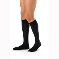 Jobst For Men Knee High Closed Toe Socks-30-40 mmHg