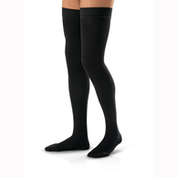 Jobst For Men Thigh High Closed Toe Stockings-15-20 mmHg