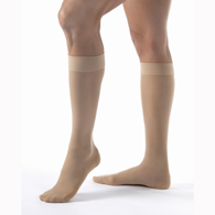 Jobst Ultrasheer Knee High Closed Toe Socks-15-20 mmHg-Full Calf